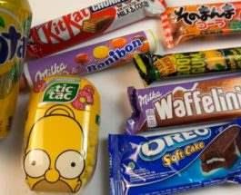 конфеты из Европы