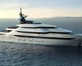 круизная яхта
