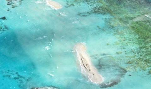 остров исчез