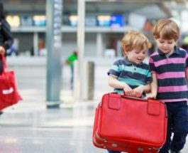 поездка с ребенком