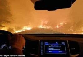 пожар калифорния