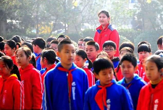 11-летняя китаянка