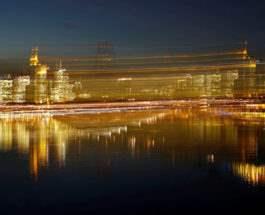 Взгляд на Франкфурт, Германия.