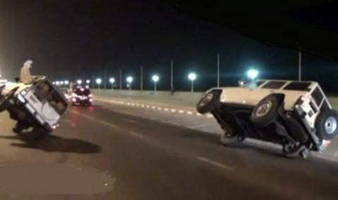 Водитель из ОАЭ