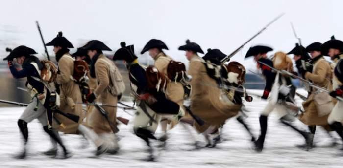 Воссоздание битвы Наполеона