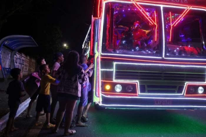 В Бразилии автобусы