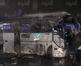 Гиза автобус взорвался
