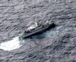 Два самолета США упали в Тихий океан