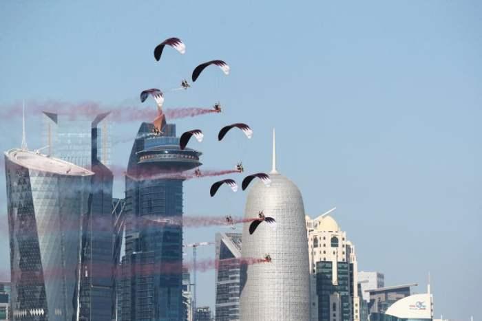 Десантники катарских вооруженных