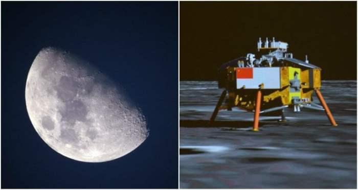 Китай темная торона луны