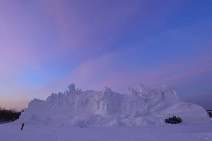 Международный фестиваль снежного искусства