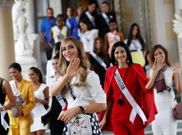 Мисс Испания Анжела Понсе