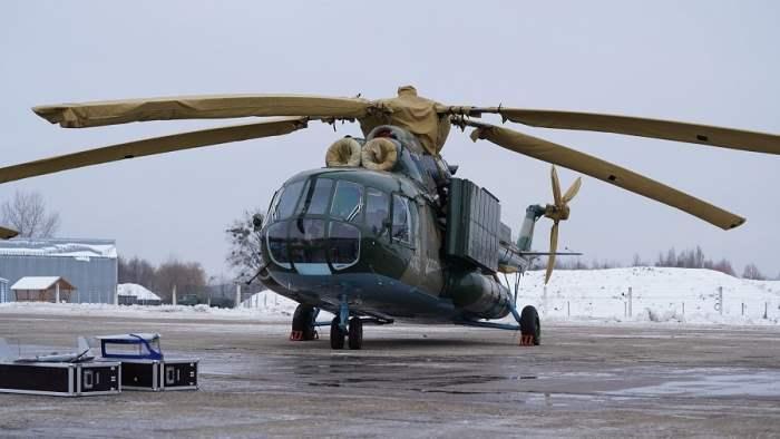 Ми-8 ТПИ Фото Олега Каткова