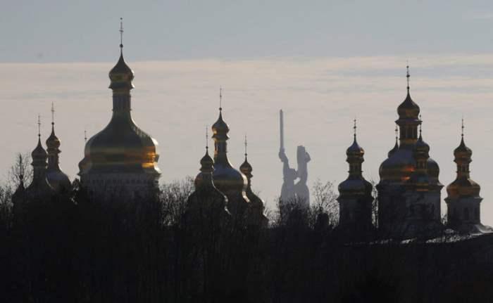 Монастырь в Киеве, Украина.