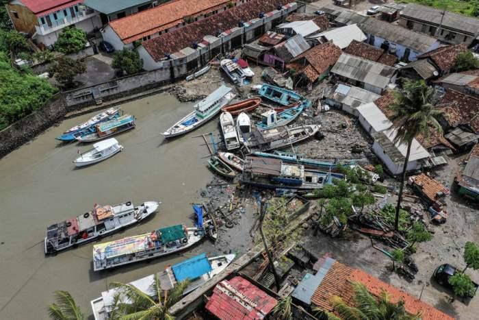 После цунами