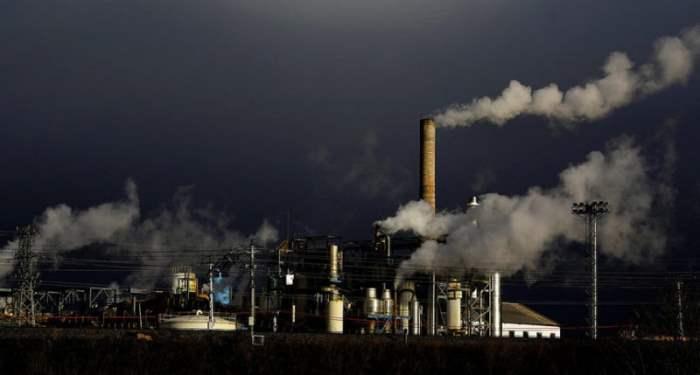 Сахарный завод в Миранда де Эбро, Испания.