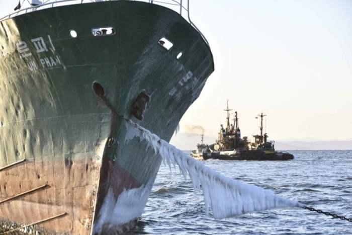 Северокорейский корабль