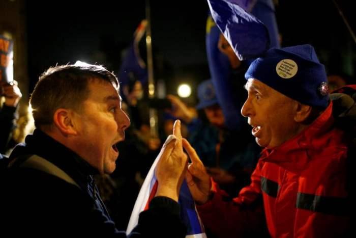 Сторонники и противники Брексита