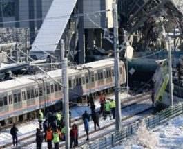 Турция авария поезда