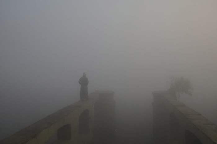 Утро в Дели, Индия.