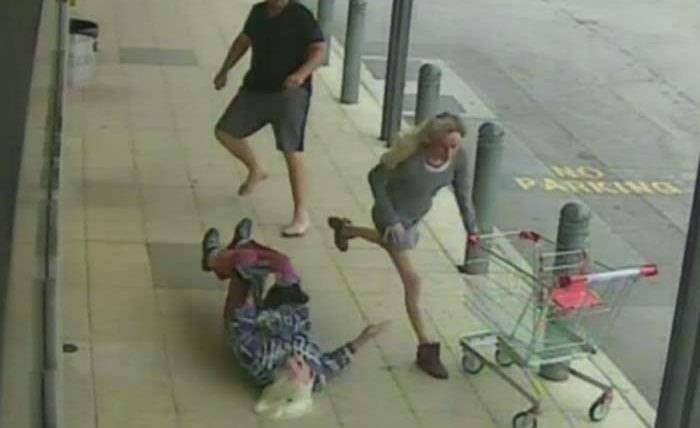 атака пенсионерки