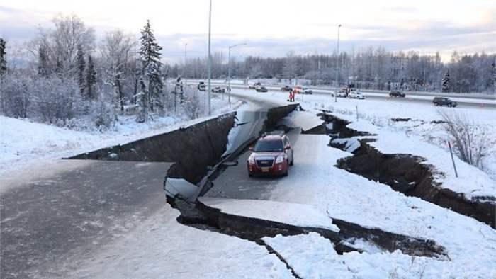 землетрясение аляска