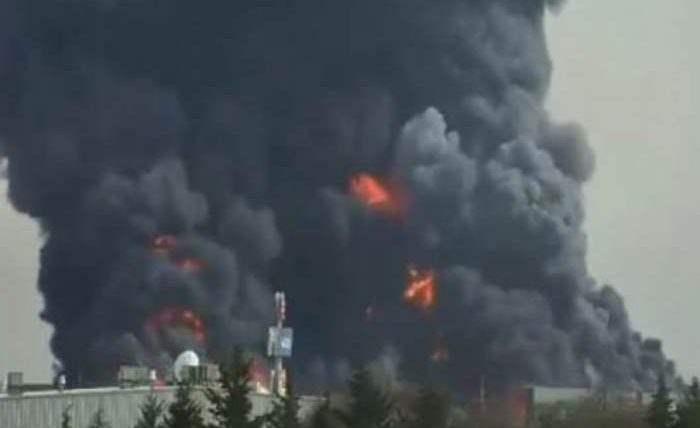 мексика пожар