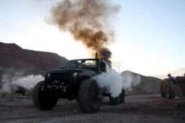 паровой Jeep Wrangler