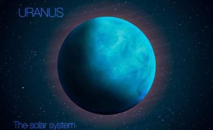 Уран «завалился на бок» в результате космического столкновения