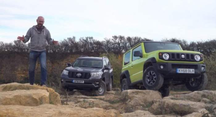 Suzuki Jimny и Toyota Land Cruiser Prado