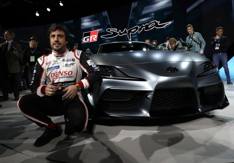 Гонщик Формулы-1 Фернандо Алонсо