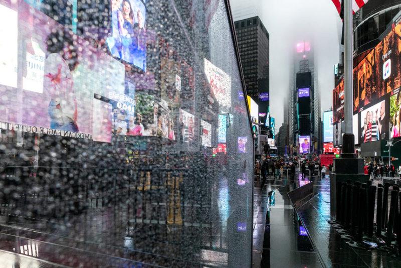 Дождь на Манхэттене