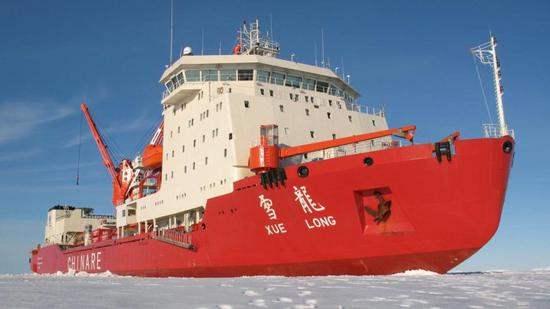 Китайский исследовательский корабль