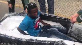 Мигранты в Матрасах