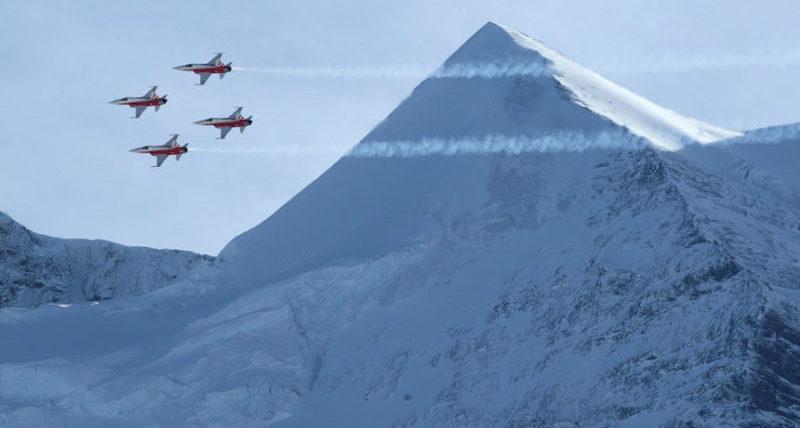 Момент открытия чемпионата мира по лыжным гонкам