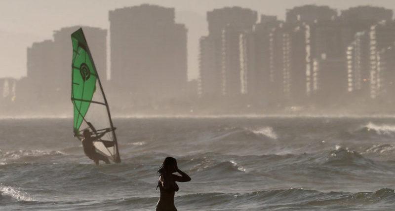 Пляж Бара да Тихука в Рио-де-Жанейро