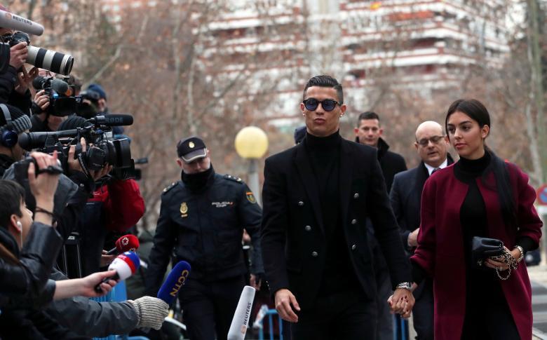 Португальский футболист Криштиану Роналду