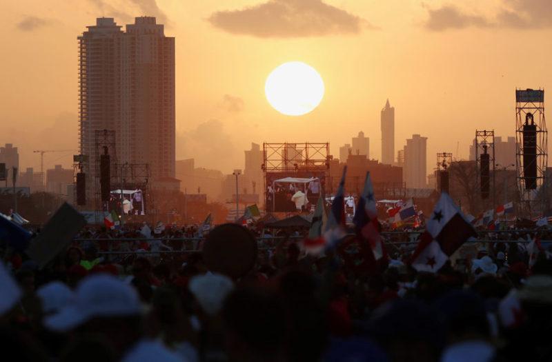 Франциск в Панаме