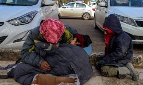 Холод убил пятнадцать детей в Сирии