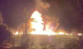 взрыв трубопровода в мексике