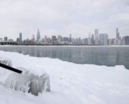 морозы в США