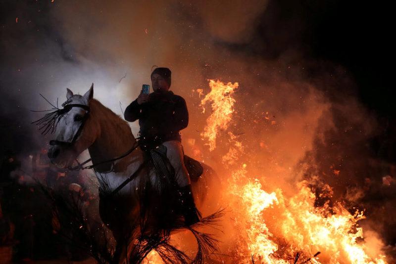 пламя и кони