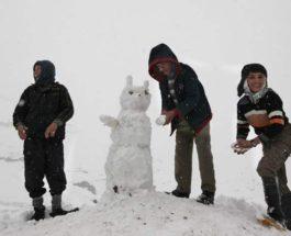снег Кабул