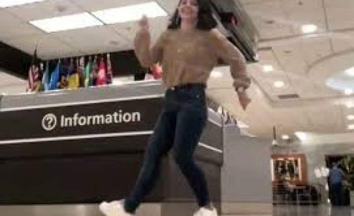 танец аэропорт