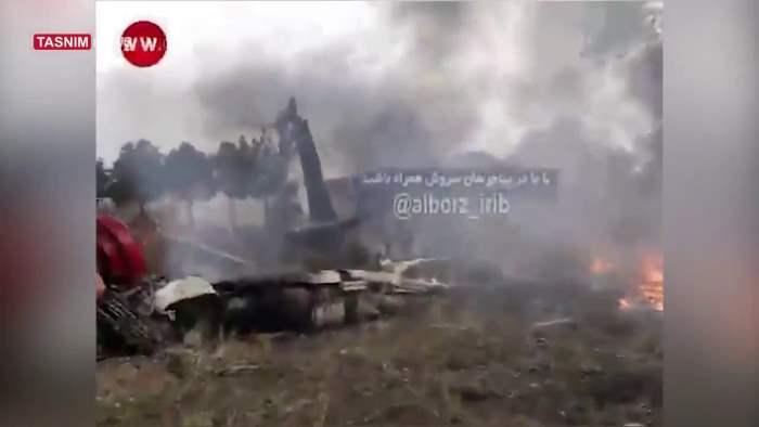 тегеран самолет разбился