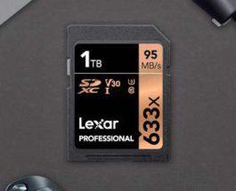 Lexar Professional 633x SDXC UHS-I
