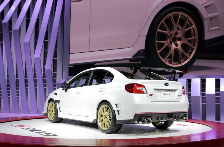Subaru WRX STI S209