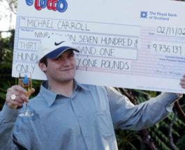 Бывший лотерейный миллионер