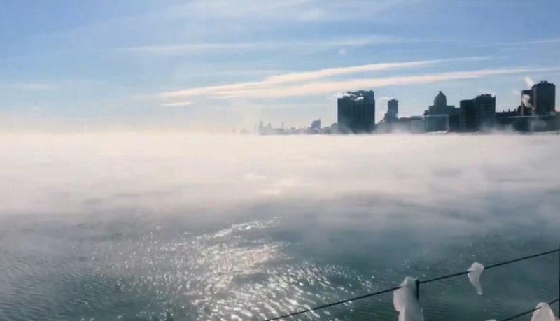 Вид на озеро Мичиган