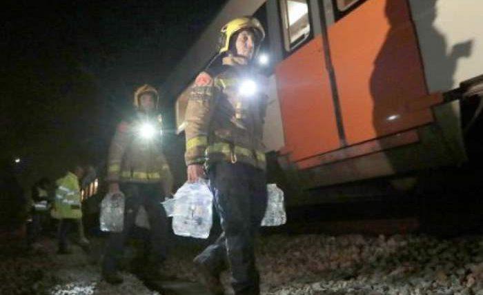 В Испании столкнулись два поезда